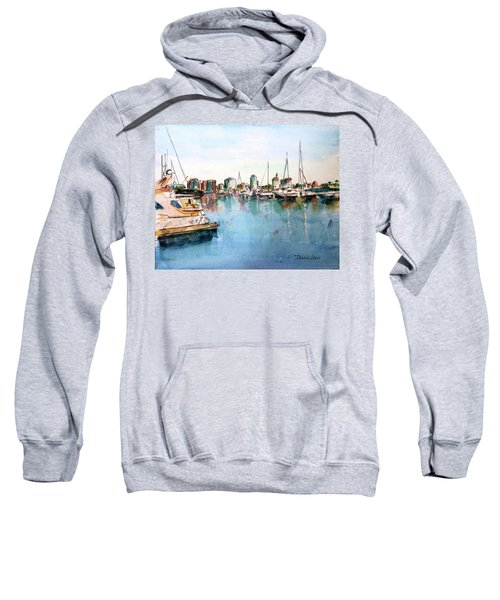 Long Beach Coastal View Sweatshirt