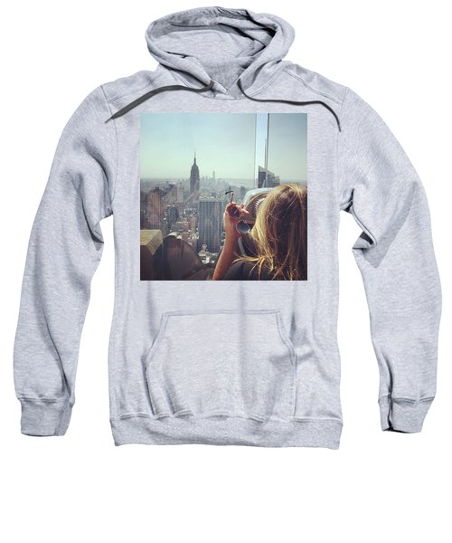 Looking Downtown In Style. #nyc Sweatshirt