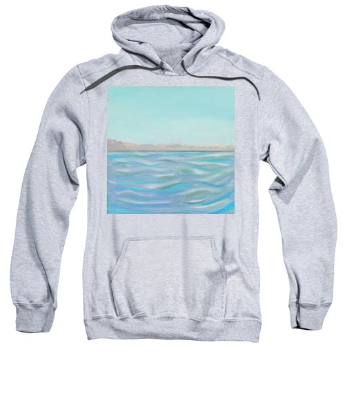Looking South Tryptic Part 1 Sweatshirt