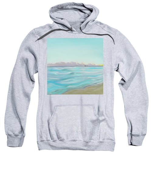 Looking South Tryptic Part 2 Sweatshirt