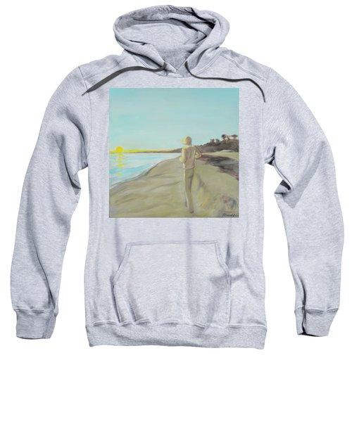 Looking South Tryptic Part 3 Sweatshirt