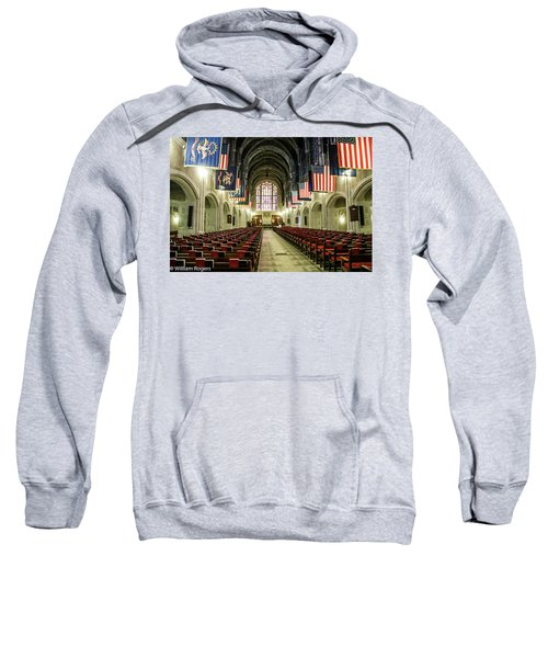 Looking To The Front Of The West Point Chapel Sweatshirt