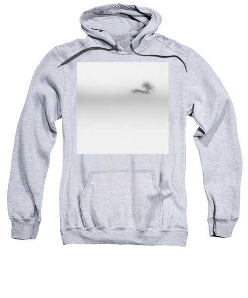 Sweatshirt featuring the photograph Lost Island Square by Bill Wakeley