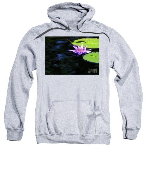 Lotus And Dark Water Refection Sweatshirt