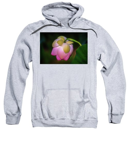 Lotus, Upside Down  Sweatshirt