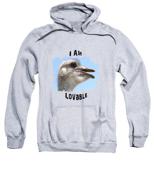 Lovable Sweatshirt by Judi Saunders