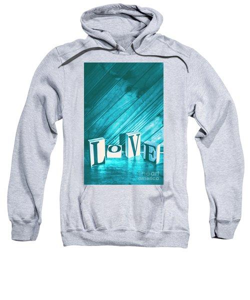 Love Blues Sweatshirt