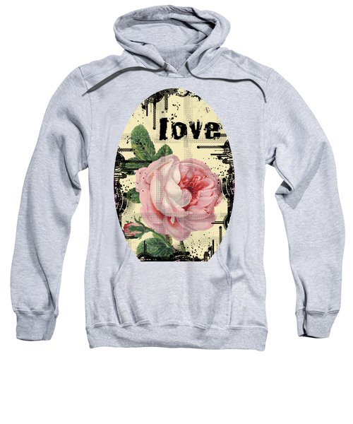 Love Grunge Rose Sweatshirt
