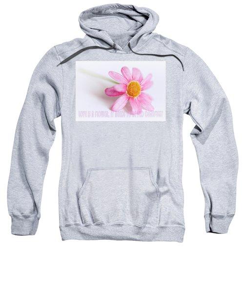 Love Is A Flower Sweatshirt
