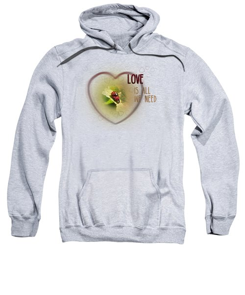Love Is All We Need Sweatshirt