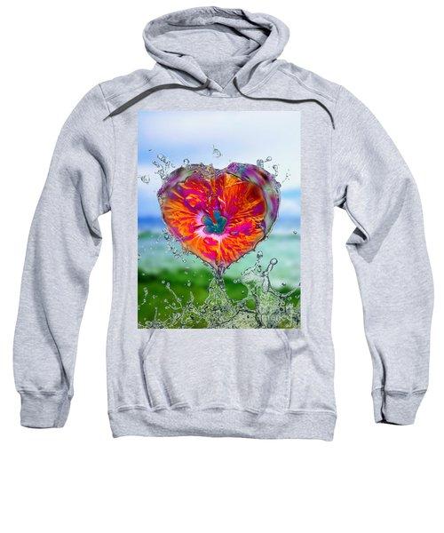 Love Makes A Splash Sweatshirt