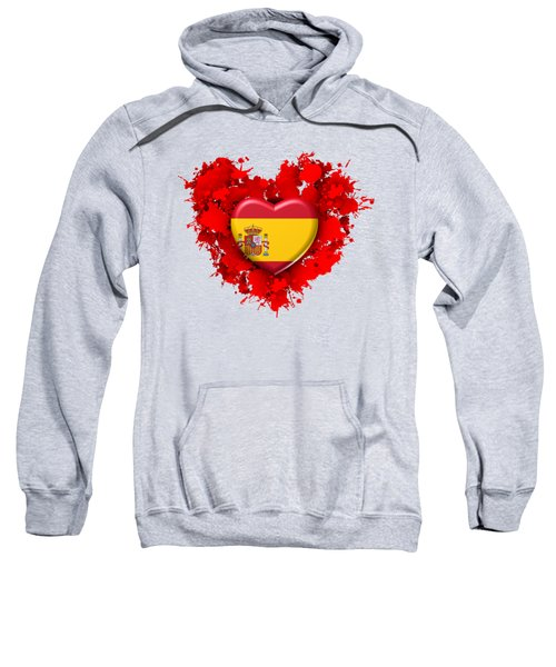 Love Spain 1 Sweatshirt by Alberto RuiZ