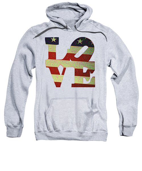 Love The Usa Sweatshirt