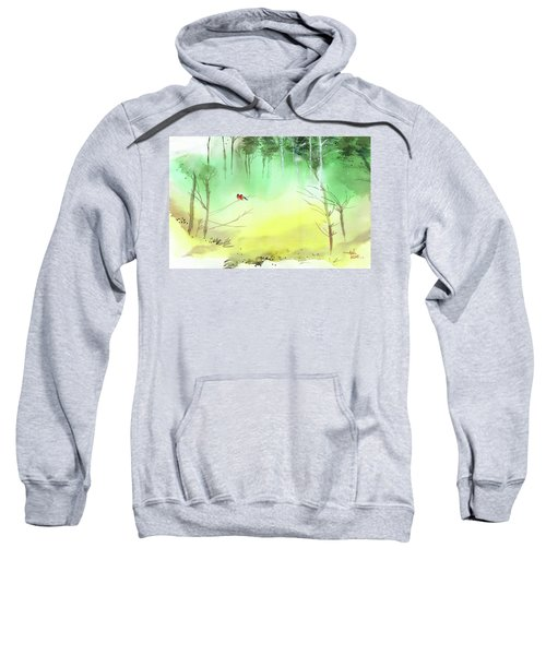 Lovebirds 3 Sweatshirt
