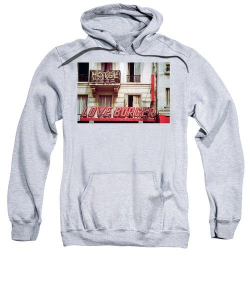 Loveburger Hotel Sweatshirt