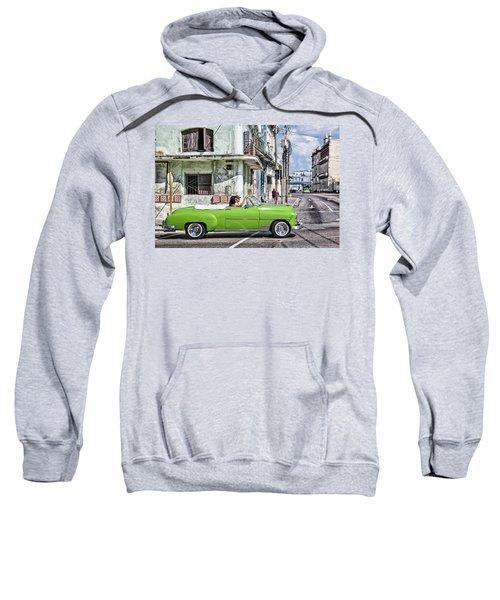Lovin' Lime Green Chevy Sweatshirt