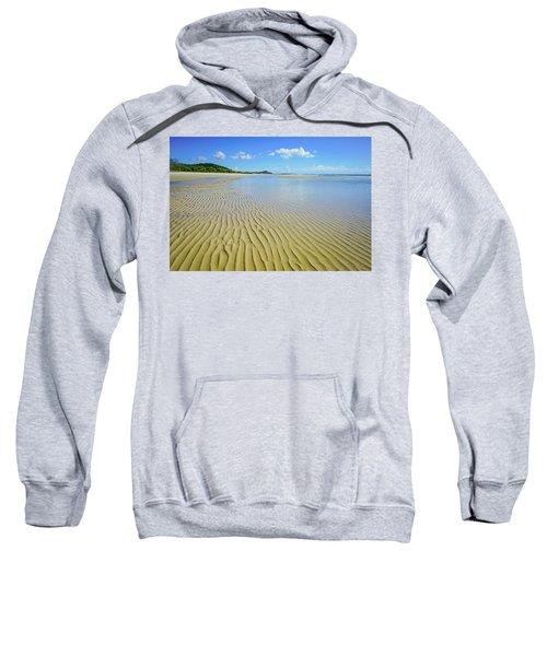 Low Tide Beach Ripples Sweatshirt