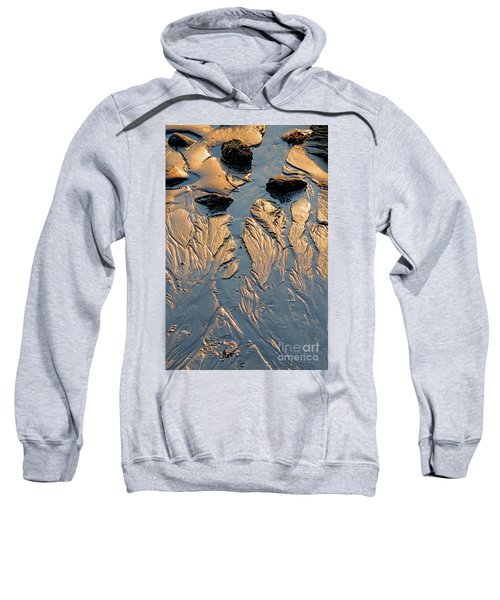 Low Tide Flow, Kettle Cove, Cape Elizabeth, Maine  -66557 Sweatshirt