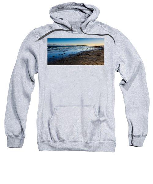 Low Tide In Winter Sweatshirt