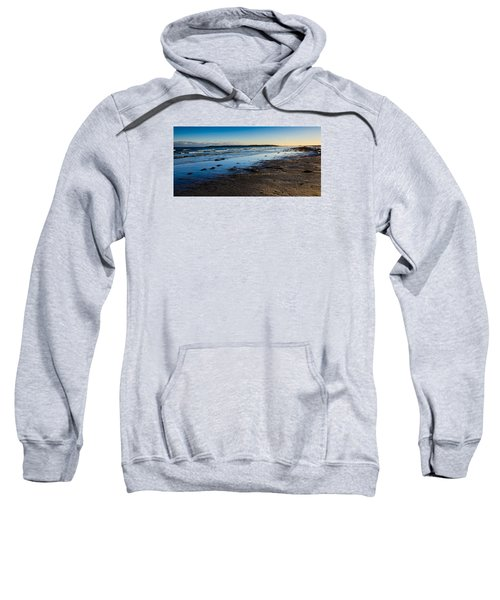 Low Tide In Winter Sweatshirt