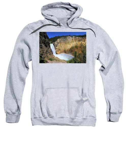 Lower Falls With A Rainbow Sweatshirt