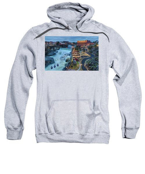 Lower Spokane Falls Early Spring Sweatshirt