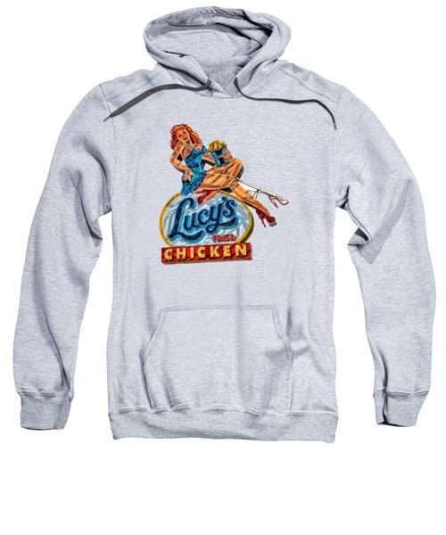 Lucys Fried Chicken Tee Sweatshirt