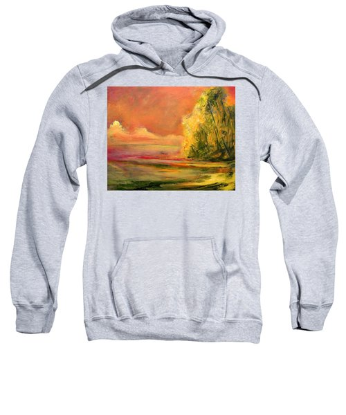 Luminous Sunset 2-16-06 Julianne Felton Sweatshirt