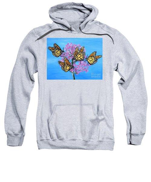 Butterfly Feeding Frenzy Sweatshirt