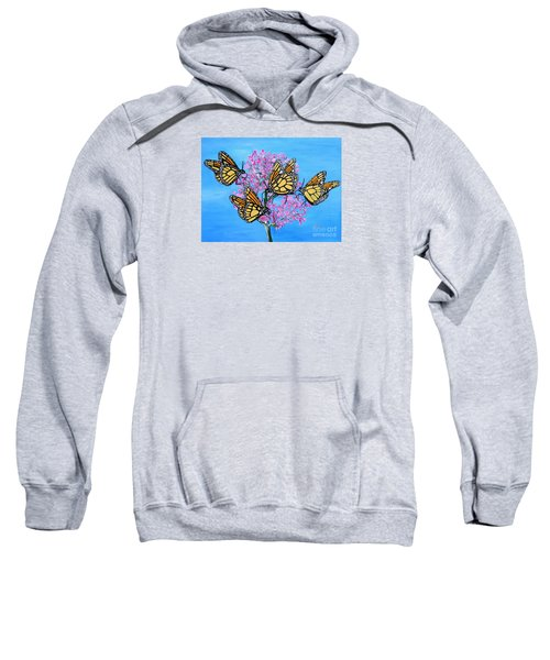 Butterfly Feeding Frenzy Sweatshirt