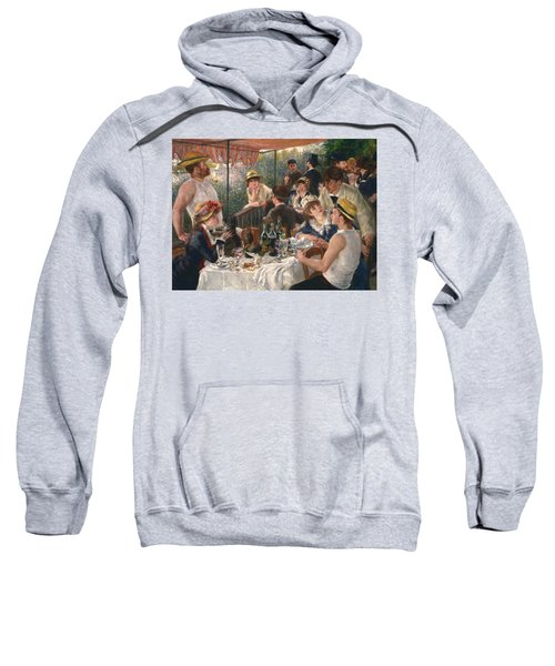 Luncheon Of The Boating Party By Renoir Sweatshirt