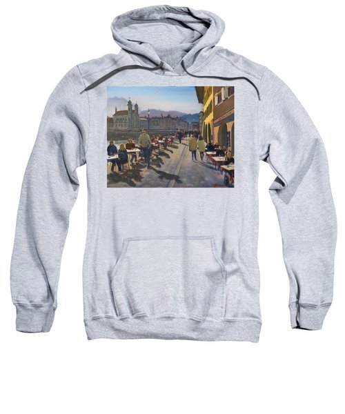 Lunchtime In Luzern Sweatshirt