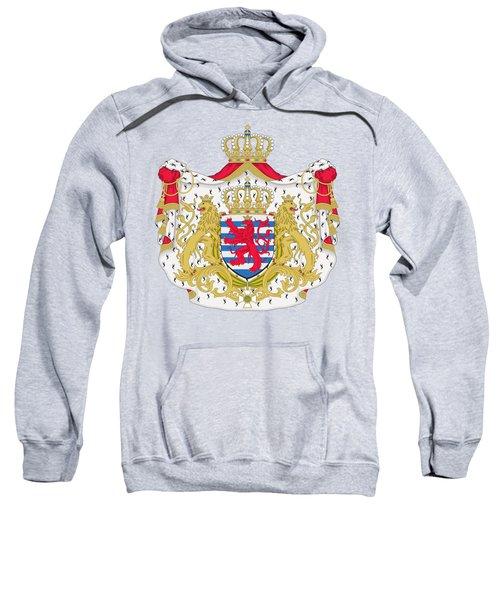 Luxembourg Coat Of Arms Sweatshirt