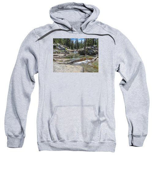 Lyell Fork Tuolomne River Yosemite National Park Sweatshirt