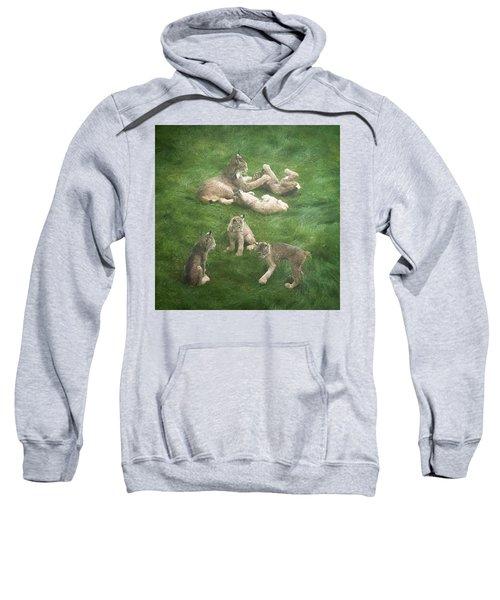 Lynx In The Mist Sweatshirt