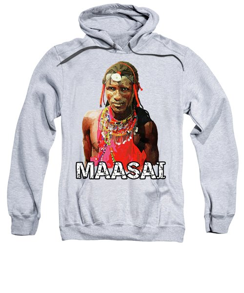 Maasai Moran Sweatshirt by Anthony Mwangi