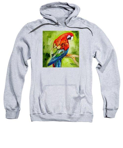 Macaw Tropical Sweatshirt