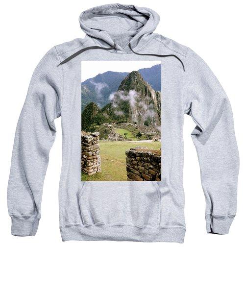 Machu Picchu In The Morning Light Sweatshirt