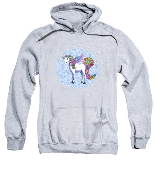 Madeline The Magic Unicorn 2 Sweatshirt by Shelley Wallace Ylst