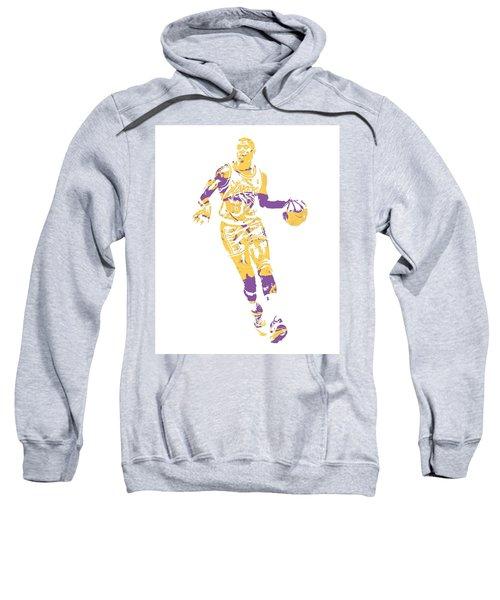 Magic Johnson Los Angeles Lakers Pixel Art 10 Sweatshirt
