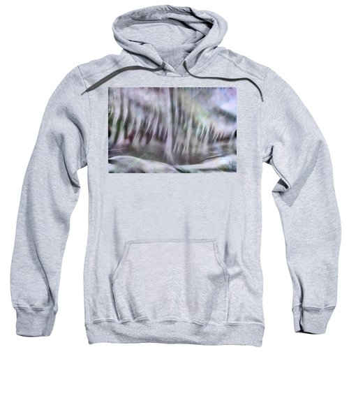 Sweatshirt featuring the photograph Symphony In Pastel Colors by Yulia Kazansky