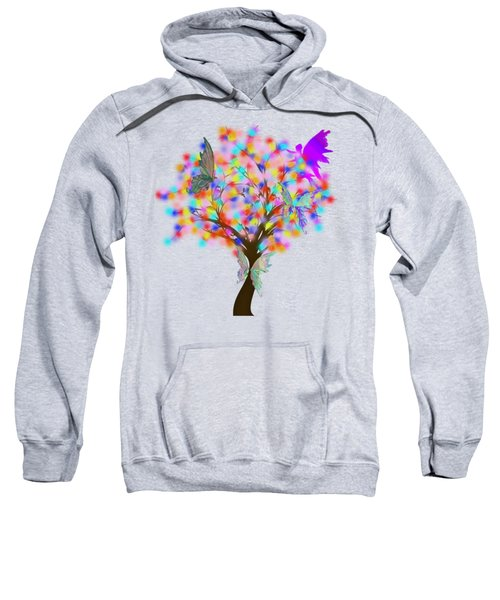 Magical Tree - Digital Art Sweatshirt
