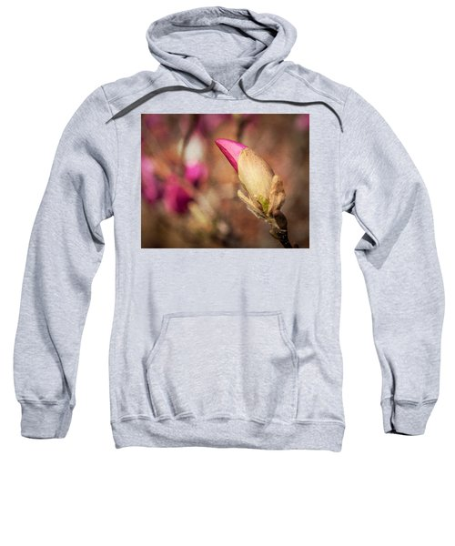 Magnolia Bud Artified Sweatshirt