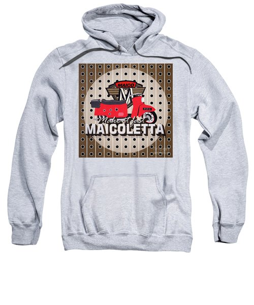 Maicoletta Scooter Advertising Sweatshirt