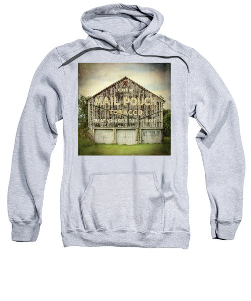 Mail Pouch Barn - Us 30 #7 Sweatshirt