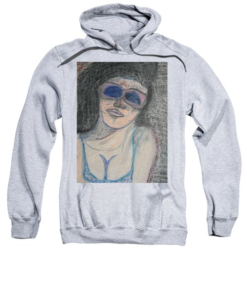 Maine Woman Sweatshirt