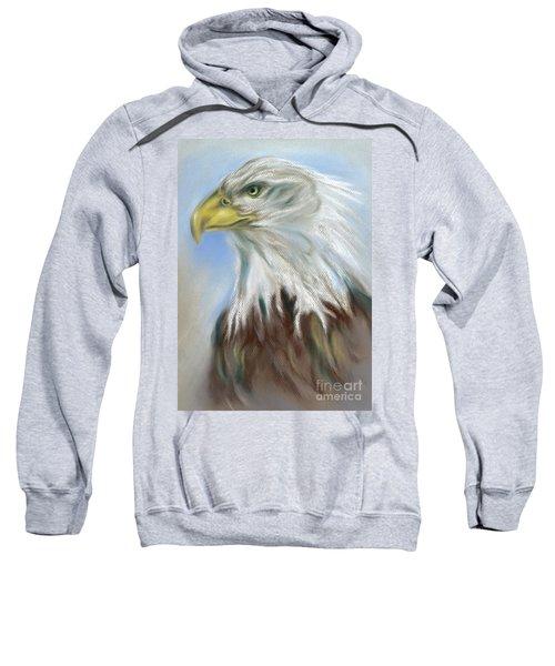 Majestic Bald Eagle Sweatshirt