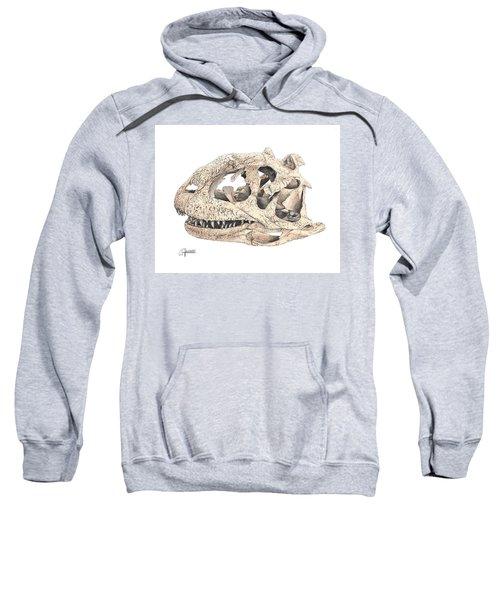 Majungasaur Skull Sweatshirt