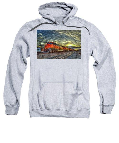 Make Way Resting B N S F Train Gallup New Mexico Art Sweatshirt