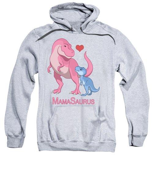 Mama Tyrannosaurus Rex Baby Boy Sweatshirt